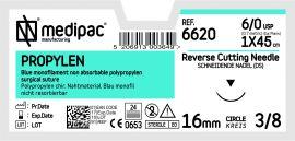 Fire de sutură din polipropilenă, 24 fire/cutie
