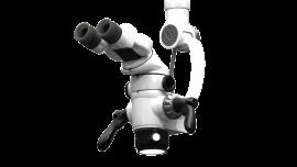Microscop stomatologic Global A Series cu 4 trepte de magnificație