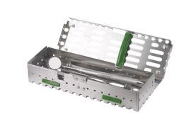 Caseta organizare instrumentar pentru 10 instrumente SciCan, SYS-TM-8X275DS